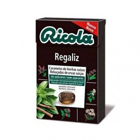 Ricola Caramelos de Regaliz Sin Azucar 50 gr.