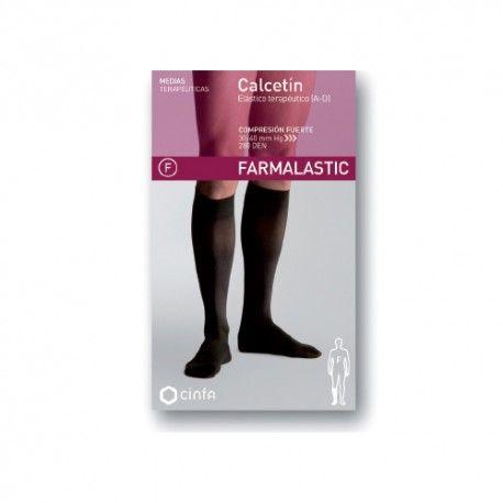 Farmalastic Calcetín Elástico Terapéutico Compresión Fuerte Talla Grande