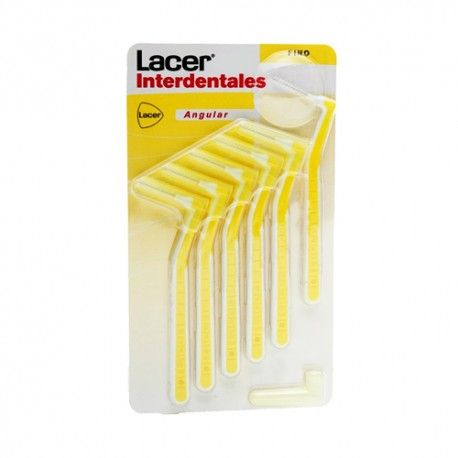 CEPILLO LACER INTERDENTAL FINO ANGULAR 6 UND.