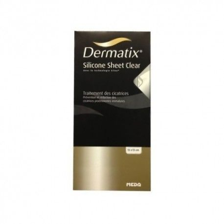 DERMATIX SILICONA CLEAR 13X13 CM 1 SOBRE