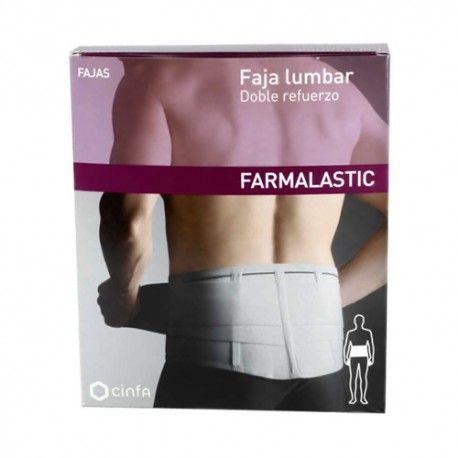 FAJA FARMALASTIC DOBLE REFUERZO T/1
