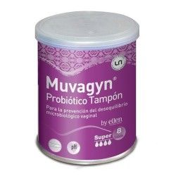 MUVAGYN PROBIOTICO TAMPON SUPER C/APLIC. 9U