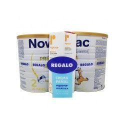 Pack 2 x Novalac 2 Premium 800 gr. + Repavar Crema Pañal 75 ml.