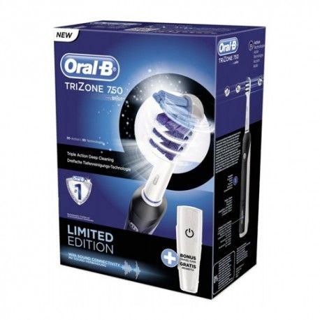 Oral-B Trizone 750 3D Black Edición Limitada + Estuche de Viaje