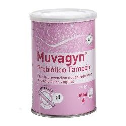 MUVAGYN PROBIOTICO TAMPON MINI C/APLIC. 9U