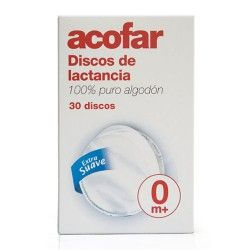 DISCOS DE LACTANCIA ACOFAR 30 UND.