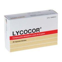 LYCOCOR 20 CAPSULAS BLANDAS
