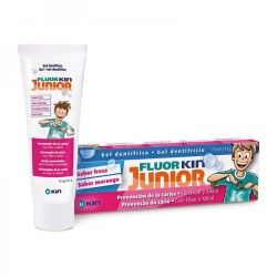 FLUOR KIN JUNIOR GEL DENTIFRICO FRESA 75 ML.