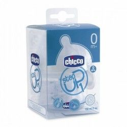 TETINA BIBERON CHICCO  STEP UP 1 F. NORMAL 0M