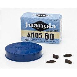 JUANOLA PASTILLAS REGALIZ ESENCIAS AÑOS 60