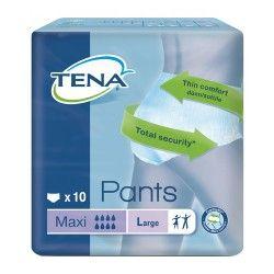 TENA PANTS MAXI LARGE 10UNDS.