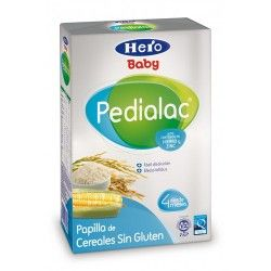 HERO BABY PAPILLA CEREAL S/GLUT PEDIALAC 500G