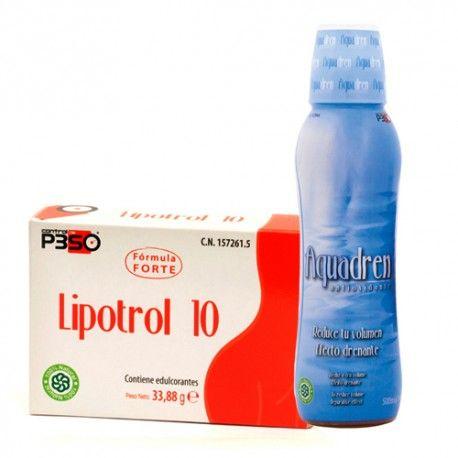 Nutrición Center Lipotrol 10 + Aquadren Antioxidante