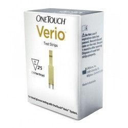 ONE TOUCH TIRAS REACTIVAS VERIO 25