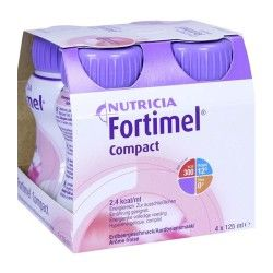 FORTIMEL COMPACT FRESA 4 X 125 ML.