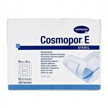 Cosmopor E Steril Apósito Adhesivo 10 x 8 cm. 10 Unidades