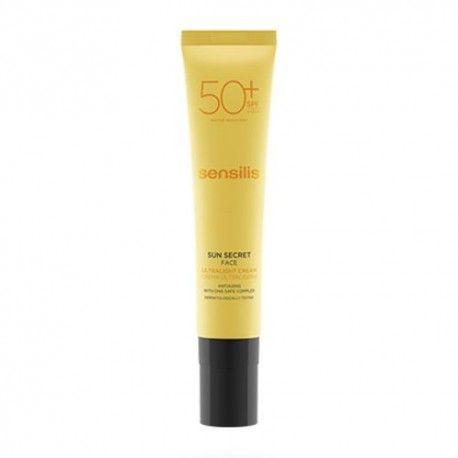 Sensilis Sun Secret Crema Facial Ultraligera SPF 50+ 40 ml.