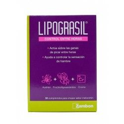 Lipograsil Control Entre Horas 30 Comprimidos Masticables