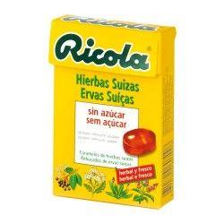 Ricola Caramelos de Hierbas Suizas Sin Azúcar 50 gr.