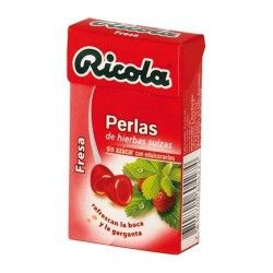 Ricola Perlas Sabor Fresa Sin Azúcar 25 gr.