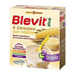 Blevit Plus Duplo 8 Cereales Con Natillas 600 gr.