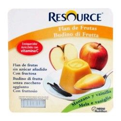 RESOURCE FLAN DE FRUTAS PACK 4X100 G.