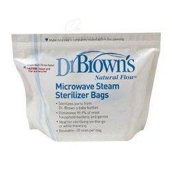 Dr. Brown's Bolsas de Esterilización Para el Microondas 5 Unidades