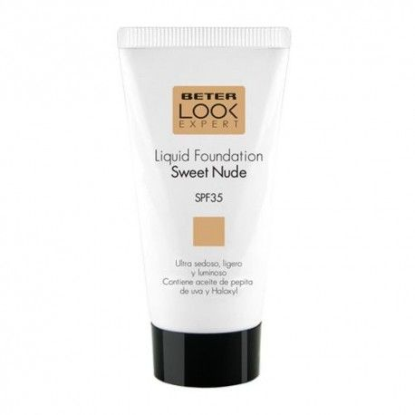 Beter Look Expert Liquid Foundation Base Maquillaje Sweet Nude SPF 30+ 50 ml.