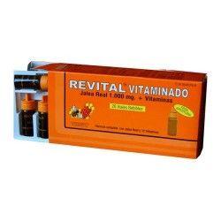 Revital Vitaminado Jalea Real + Vitaminas 20 Ampollas Bebibles