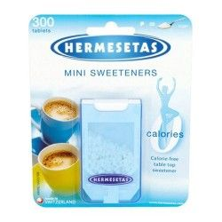 Hermesetas Sin Calorías Mini Endulzador 300 Tabletas
