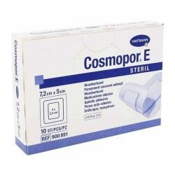Cosmopor E Steril Apósito Adhesivo 7,2 x 5 cm. 10 Unidades