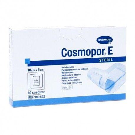 Cosmopor E Steril Apósito Adhesivo 10 x 6 cm. 10 Unidades