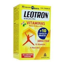 Leotron Vitaminas Jalea Real 30 + 10 Cápsulas Gratis