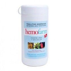 Hemofarm Plus Toallitas Bote 60 Unidades
