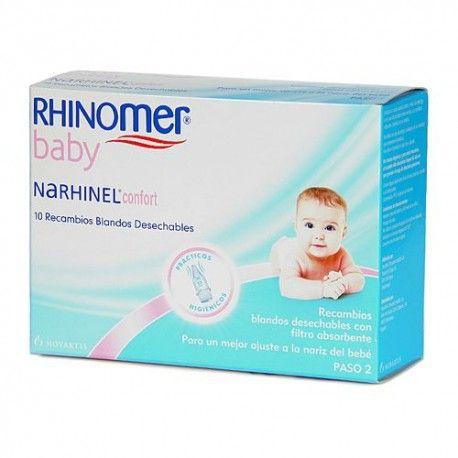 Narhinel Confort 10 Recambios Aspirador Nasal
