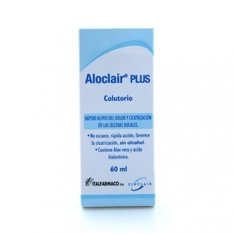 ALOCLAIR PLUS COLUTORIO  60 ML.