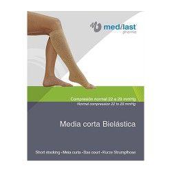MEDIA MEDILAST CORTA C.NORMAL T/10 R.89210G