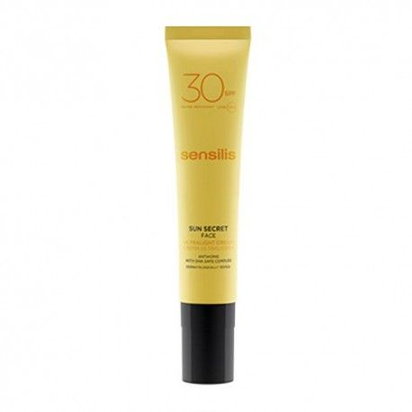 Sensilis Sun Secret Face Crema Ultraligera SPF 30+ 40 ml.