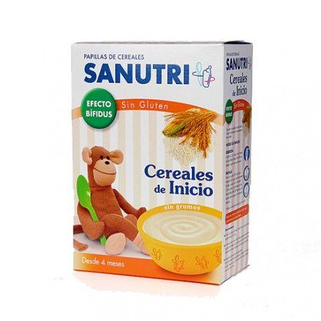 Sanutri Cereales Inicio Sin Gluten 600 gr.