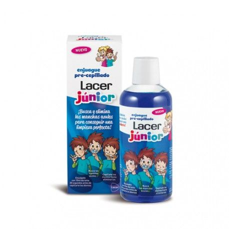 Lacer Junior Enjuague Pre-cepillado 500 ml.