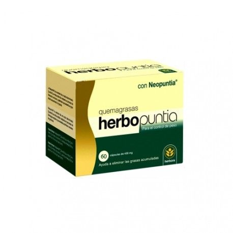 Herbopuntia Quemagrasas 60 Cápsulas