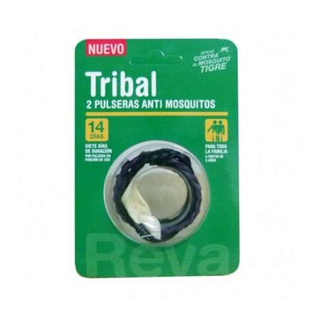 Tribal Pulsera Antimosquitos