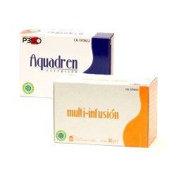 Nutrición Center Aquadren Retención + Multi-infusión