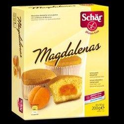 SCHAR MAGDALENAS RELLENAS 200 Gr. SIN GLUTEN