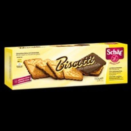 GALLETAS BISCOTTI CHOCOLATE 150 Gr