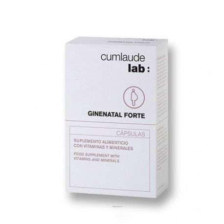 Cumlaude Ginenatal Forte 30 Comprimidos