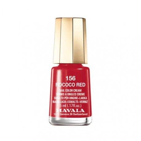 Mavala Esmalte de Uñas 156 Rococo Red 5 ml.