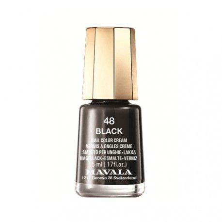 Mavala Esmalte de Uñas 48 Black 5 ml.