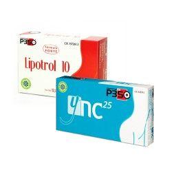 Nutrición Center Lipotrol 10 + YNC 25