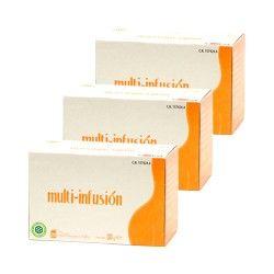 Nutrición Center Multi-infusión x 3 Unidades